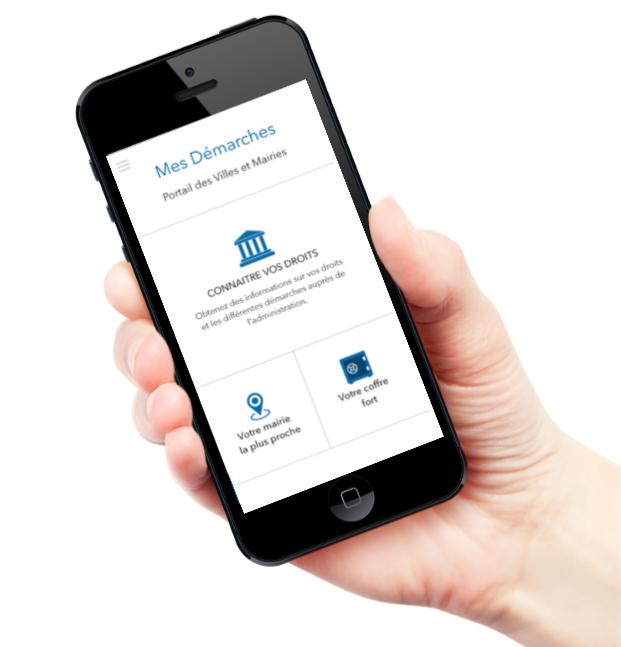 appli mobile mes démarches administrative